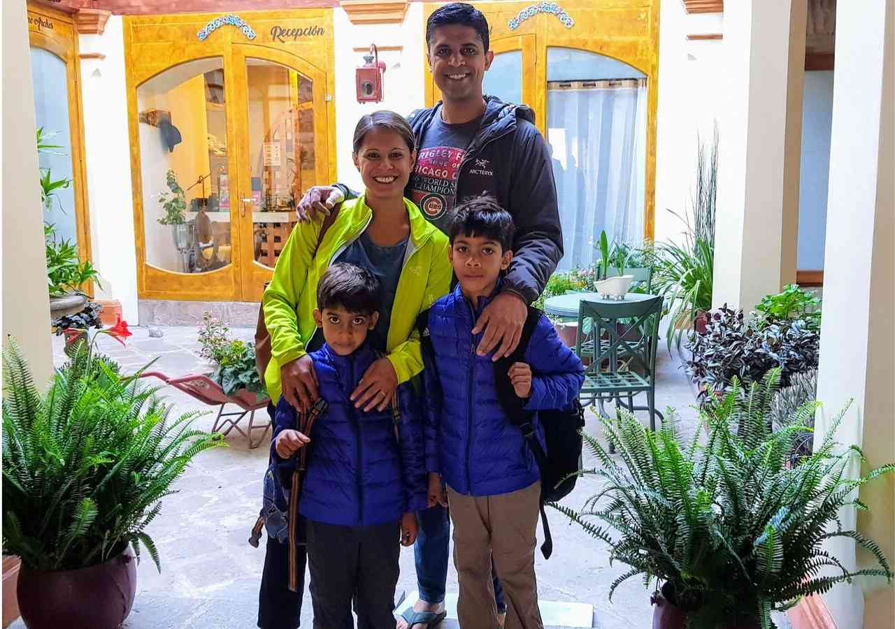 Family friendly travel hotel in Quito Ecuador near casa Gangotena