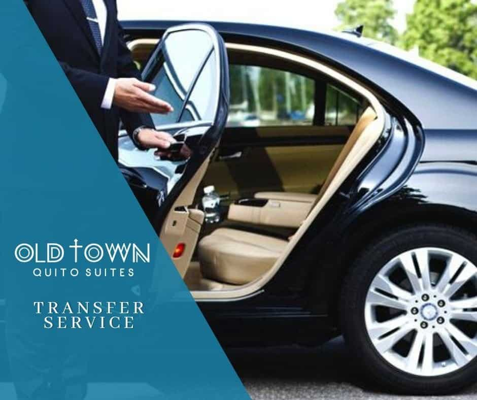 Transfer services to and from the airport
